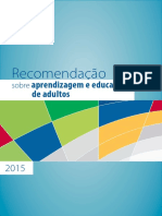 Unesco Recomendacoes Sobre Aprendizagem Jovens e Adultos