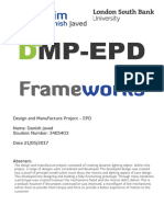 Danish Javed_3405403_Frameworks Project Report