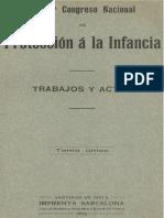Primer Congreso Nacional de Protección a la Infancia, trabajos y actas (1913) (2)