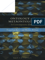 Ontology and Metaontology a Contemporary Guide
