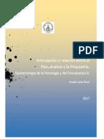 RELACIÓN ENTRE EL PSICOANÁLISIS Y LA PSIQUIATRÍA
