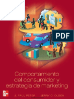 Comportamiento Del Consumidor y Estrategia de Marketing J. Paul Peter y Jerry C. Olson