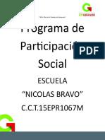 Formatos de Documentos Para Carpeta de Participación Social