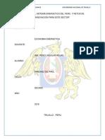 Analisis Del Sistema Energetico Del Peru y Retos de Innovacion Para Este Sector