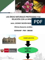 Áreas Naturales Protegidas y Su Relación Con La Minería - Unasam