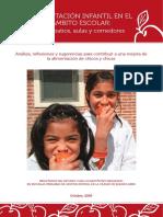Alimentacion Infantil en El Mbito Escolar