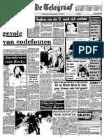 Minister De Ruiter gelast onderzoek naar in doofpot gestopt rapport Rol van Militaire Missie bij staatsgreep Suriname onder tafel gewerkt