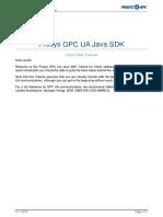 Prosys OPC UA Java SDK Client Tutorial