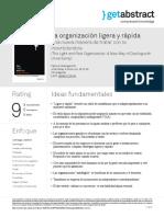 La Organizacion Ligera y Rapida Hollingworth Es 29141