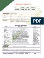 1° CIENCIAS NATURALES  JULIO 2015