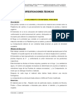 Aespecificaciones -Pavimento - Cajas