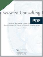 FINAL Wilshire TRSL SFP Response