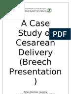 Preeclampsia case study scribd