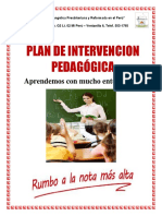 plan de intervención pedagógica 2do grado 2015 (2).docx