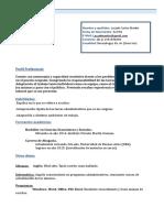 Curriculum Vitae Modelo1b Azul