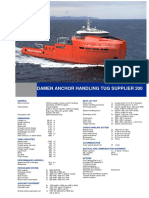 Anchor Handling Tug Supplier 200 DS
