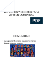 2. Derechos y Deberes Para Vivir en Comunidad