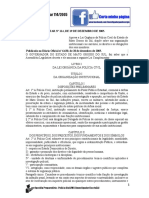 Lei Complementar Nº 114, De 19 de Dezembro de 2005.