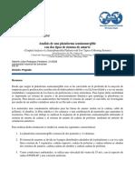 Plataforma Semisumergibles Con Dos Sistemas de Amarre (RESUMEN)