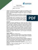 Estatica y Resistencia de Materiales II