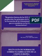 Parte de Las NCF de La Guía Europea de Las Normas de Correcta Fabricación