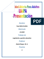 Tarea 5 Legislacion y Gestion Educativa