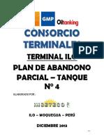 Plan de Abandono TK -4 ILO