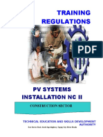 TR - PV Systems Installation NC II