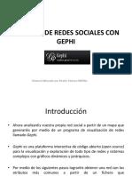 Práctica de Redes Sociales Gephi
