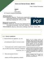 Slides #03 – Burocratização Pedagógica