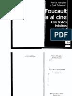 Foucault Va Al Cine. Patrice Maniglier & Dork Zabunyan, 2012