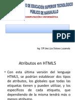 Clase 06-Atributos de Html5