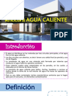 Instalación de Agua Caliente