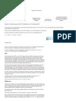 API, Biblioteca e Framework