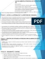 Titulo III – Proceso de Evaluacion Ambiental Estrategica
