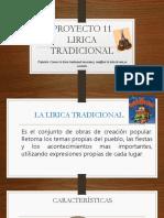 Liricatradicional