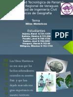 Geografia -Hitos Historicos