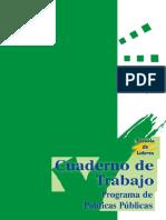 Cuaderno de Rabajo Politicas Publicas