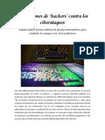 Escuadrones de 'Hackers' Contra Los Ciberataques Rodney González