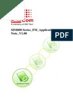Sim800 Series Fm Application Note v1.00