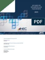 INEC. Anuario Estadistico de Transportes 2015