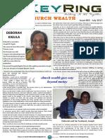 Key Ring Issue 63 - Church Wealth