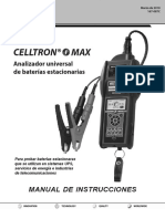 167-087C CMAX Spanish Celltron Maxx