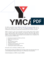 Ymca questions report
