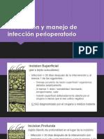 Prevención y Manejo de Infección Perioperatorio