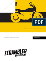 Manual Usuario Ducati Scrambler ESP MY16 ED00