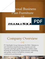 Proposal Business Plan Furniture