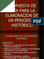 Guia Para La Elaboracion de Periodico Historico