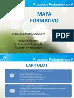 Mapa Formativo Procesos Pedagógicos V