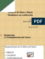 Balance de Línea y Líneas Modulares en Confección
